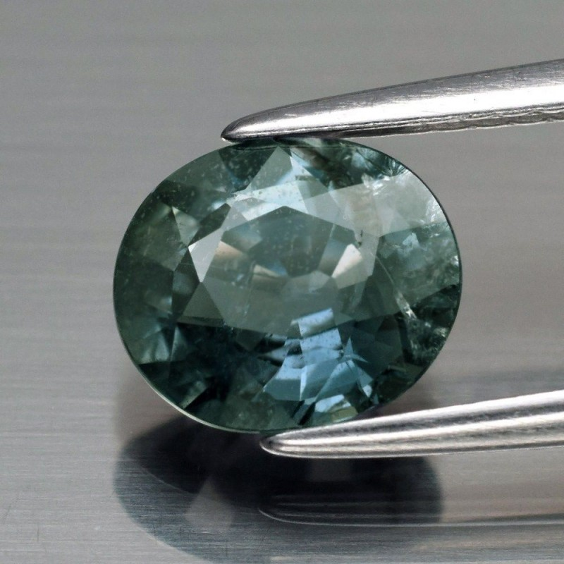 Natural Unheated Untreated Bluish Green Sapphire - 1.54 ct - No Reserved
