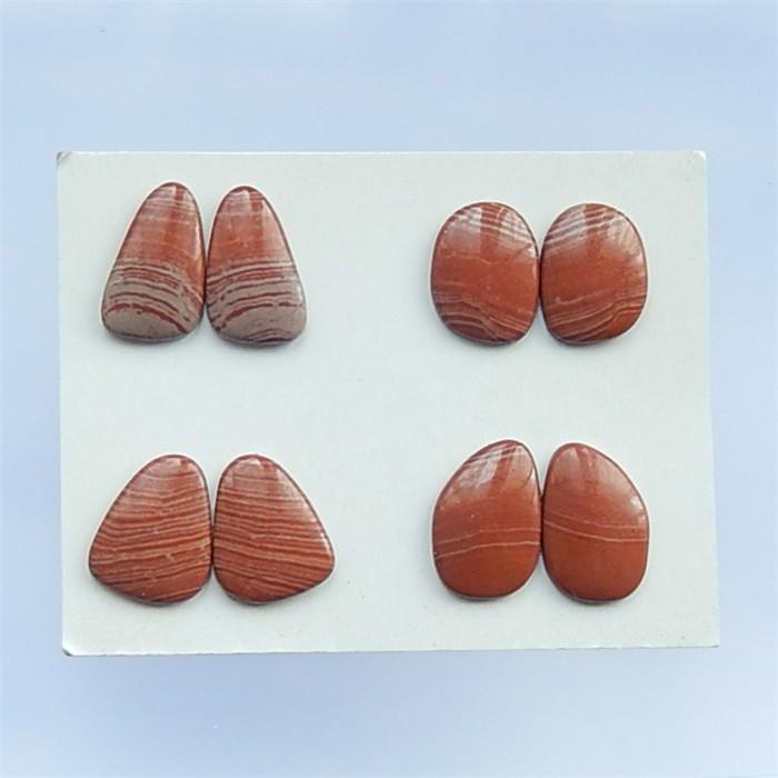 95.5ct 4Pair Natural Wonder Stone  Cabochon (18032821)