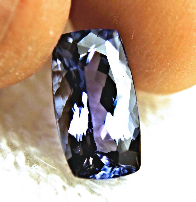 GIA CERTIFIED - 4.85 IF/VVS1 Elegant Violet African Tanzanite