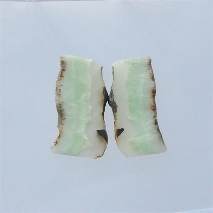 73.5ct Hot Sale Hemimorphite nugget Earring Pair(18040205)