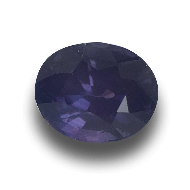 Natural Unheated Violet Sapphire |Loose Gemstone| Sri Lanka - New