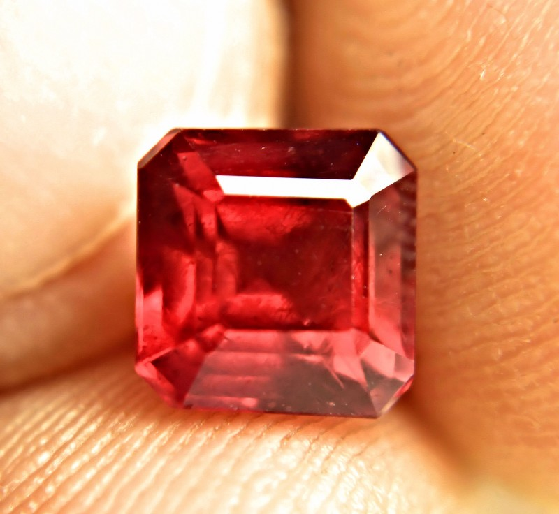 5.74 Carat Fiery Red Ruby - Superb