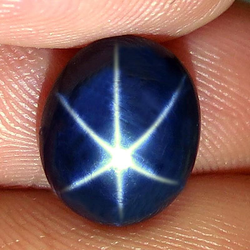 4.90 Carat Diffusion Blue Star Sapphire - Gorgeous