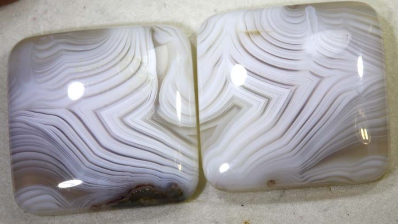 72.5CTS LACE AGATE PAIR ADG-1628