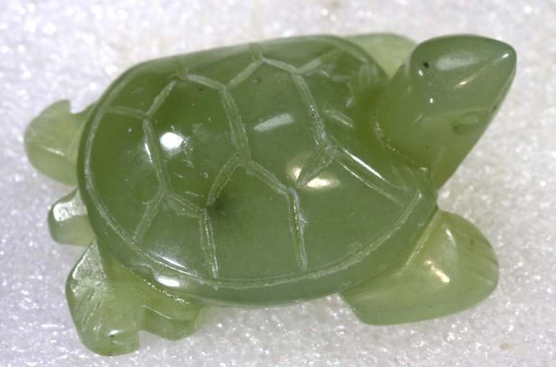 105.50 CTS Natural Jade Carving  LG-2023