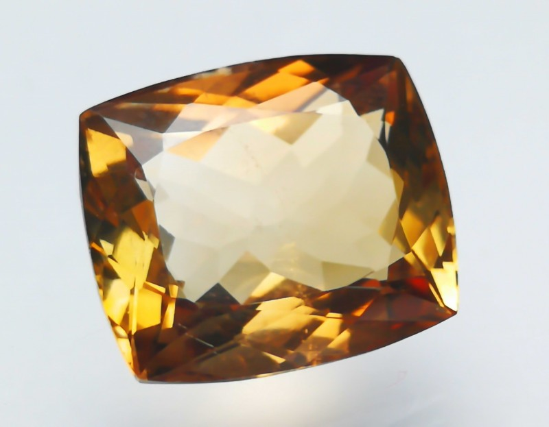 12 cts Topaz Brownish Fire Color Superb Gemstone ~~ Irradiated