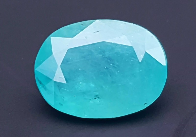 4 cts Grandidierite Blueish Oval Shape Gemstone
