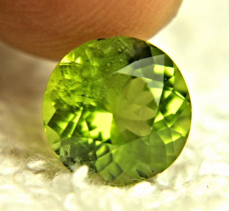 4.01 Carat Vibrant Green Himalayan SI Peridot - Gorgeous
