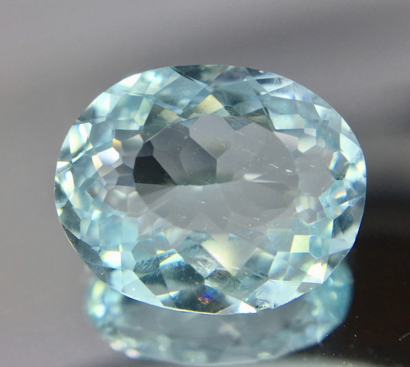 2.45 Crt Aquamarine Faceted Gemstone