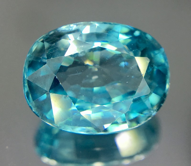 3.15 Crt Zircon Faceted Gemstone