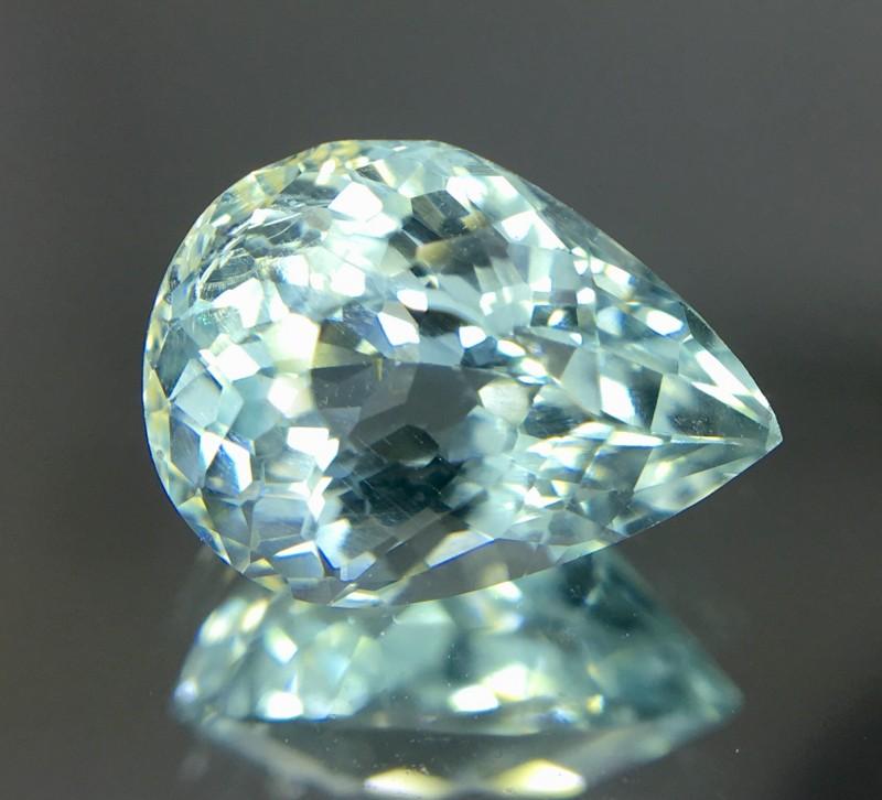 2.15 Crt Aquamarine Faceted Gemstone