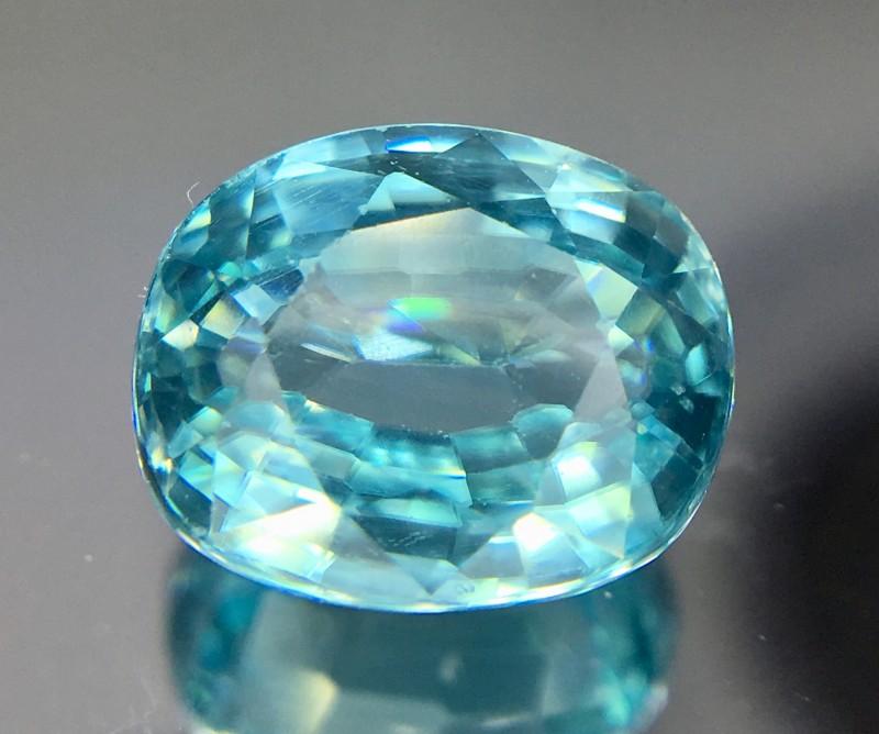 3.30 Crt Zircon Faceted Gemstone