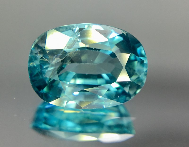 3.25 Crt Zircon Faceted Gemstone