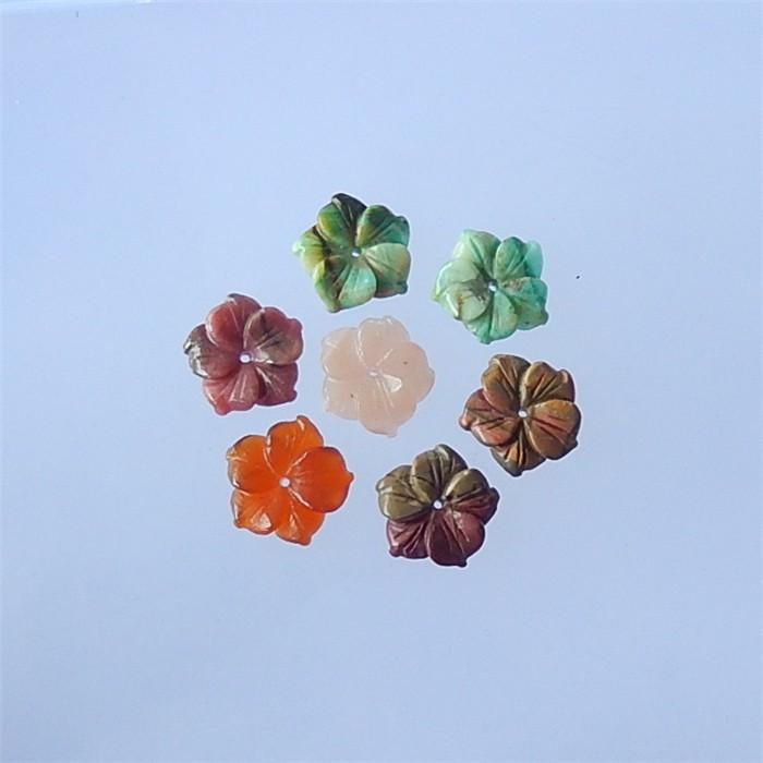 47.3ct  Hot Sale Sun Stone .Red Agate .Chrysocolla And Multi-Color Picasso