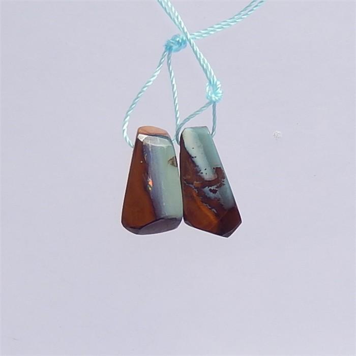 11ct New Design Nugget Boulder Opal Earring Pair(18041209)