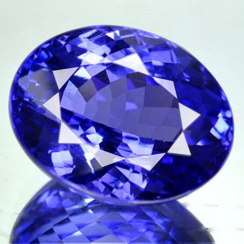 9.02 Cts Natural Purple Blue Tanzanite Oval Cut Tanzania
