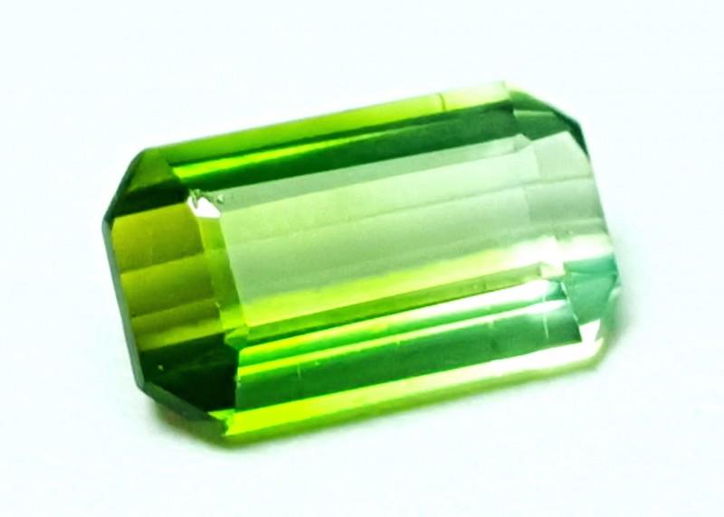2 Cts Tourmaline Bi Color  SI Gemstone ~~~~ Afghanistan