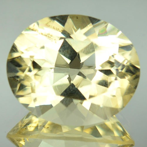 8.80 Cts Natural Yellow Scapolite Oval Cut Tanzanian Gem