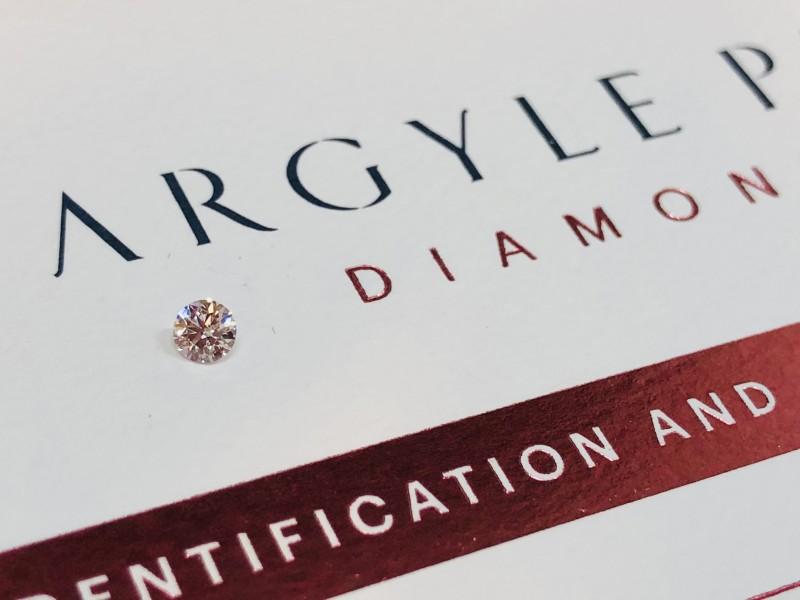 0.15ct NCP P1 Argyle Pink Diamond