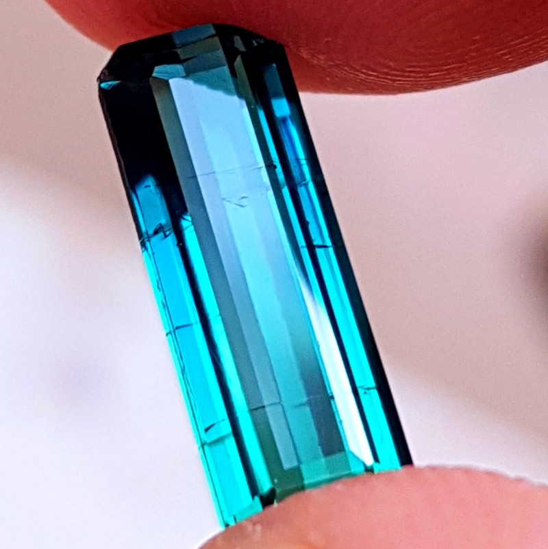 NR- 2.45 Cts Tourmaline Natural Blueish Green Si Gemstone Made For Rings