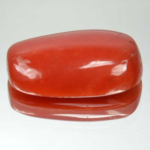 7.92 Cts Natural Italian Red Coral Cabochon ~100% UNTREATED~