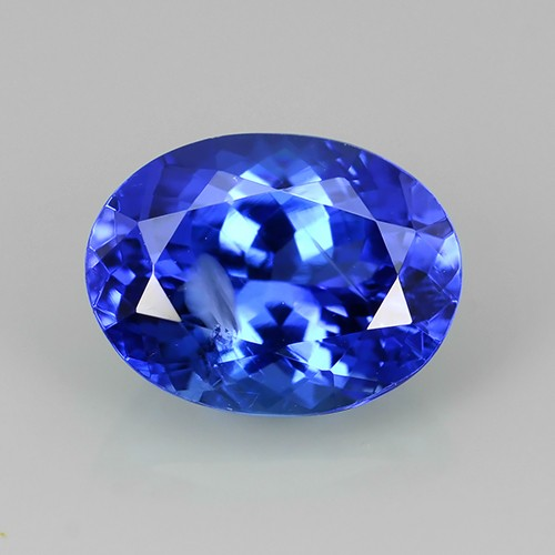 oval cluster top tanzanite ring