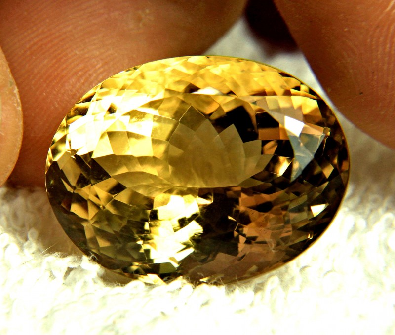 45.63 Carat Golden Brazilian Citrine - Gorgeous