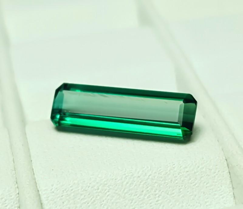 NR- 1.70 Cts Tourmaline Blueish Green Flawless Gemstone