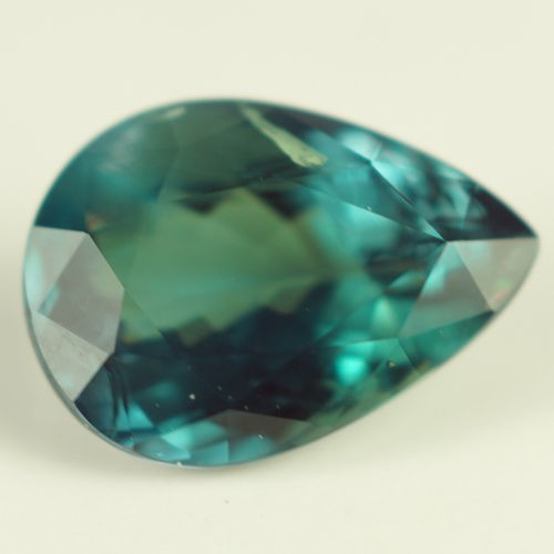 1.63 CT GIA CERTIFIED BLUISH GREEN NATURAL CHRYSOBERYL ALEXANDRITE