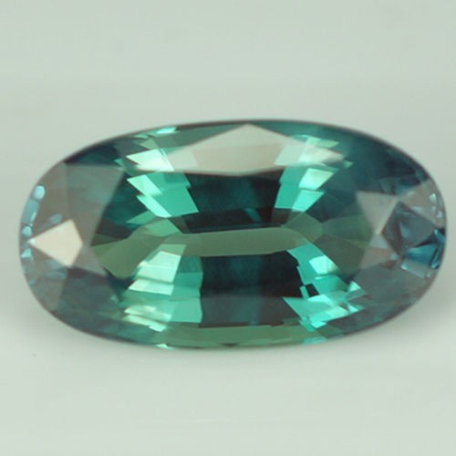 1.46 ct GRS CERTIFY NATURAL COLOR CHANGE ALEXANDRITE OVAL