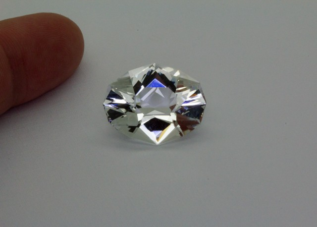 17.51Ct TOPAZ ( Killiercrankie Diamond ) Specialty Cut stone