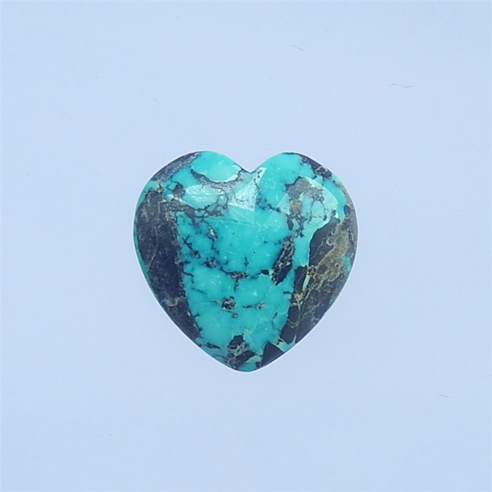 17.5ct Beautiful Heart Shape Turquoise Cabochon(18042212)