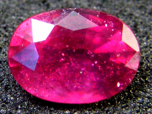 EYE CLEAN SPARKLING OVAL RUBY 1.15 CTS RM 138