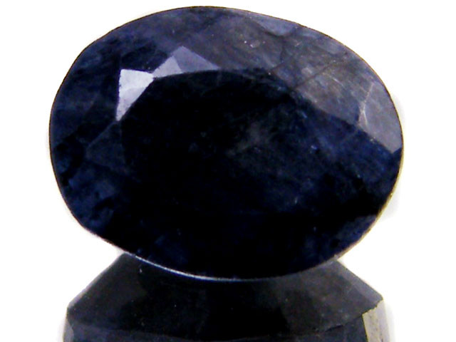 NATURAL METALLIC SHEEN BLUE SAPPHIRE STONE 5.15 CTS SGS 114