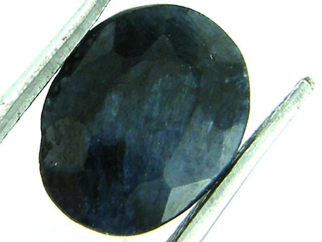 NATURAL METALLIC SHEEN BLUE SAPPHIRE STONE 3.75 CTS SGS 154