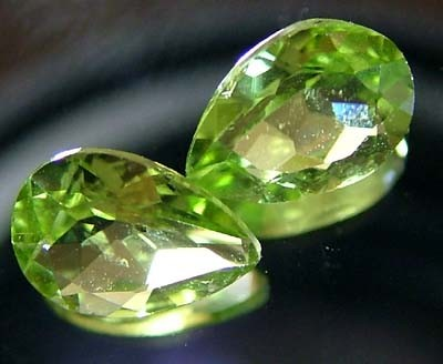 PERIDOT NATURAL FACETED STONE 1.30 CTS FN 3238 (TBG-GR)