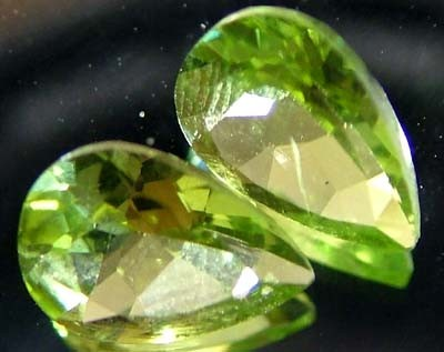 PERIDOT NATURAL FACETED STONE 1.35 CTS FN 3258 (TBG-GR)