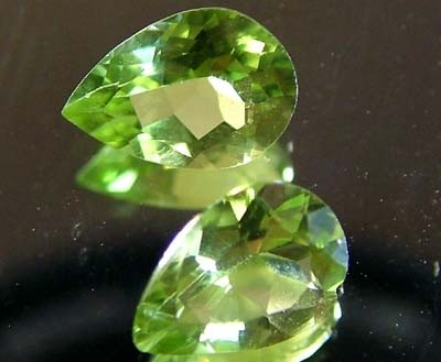 PERIDOT NATURAL FACETED STONE 1.20 CTS FN 3267 (TBG-GR)
