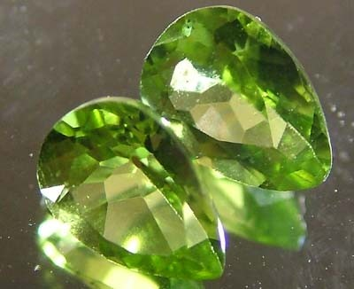 PERIDOT NATURAL FACETED STONE 1.50 CTS FN 3276 (TBG-GR)