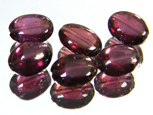 PARCEL RUBELLITE BEADS 8.35 CARATS  SGS 216