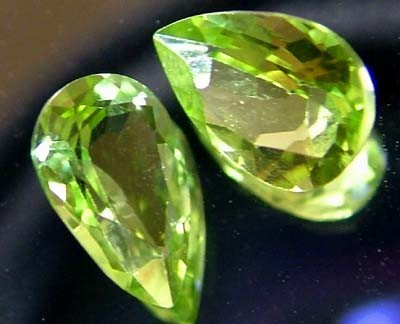 PERIDOT NATURAL FACETED STONE 1.45 CTS FN 3286 (TBG-GR)