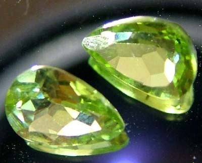 PERIDOT NATURAL FACETED STONE 1.30 CTS FN 3287 (TBG-GR)