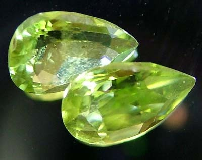 PERIDOT NATURAL FACETED STONE 1.30 CTS FN 3288 (TBG-GR)