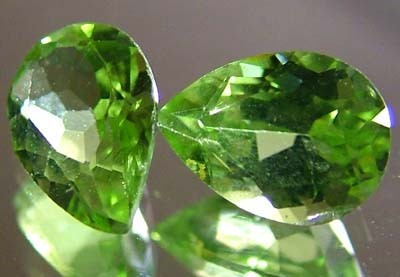 PERIDOT NATURAL FACETED STONE 1.25 CTS FN 3289 (TBG-GR)