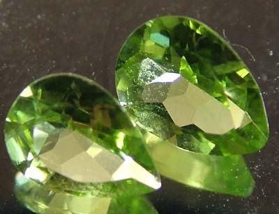 PERIDOT NATURAL FACETED STONE 1.35 CTS FN 3308 (TBG-GR)