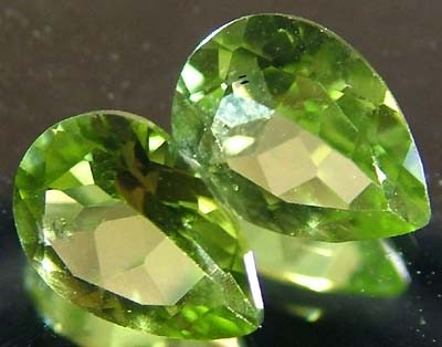 PERIDOT NATURAL FACETED STONE 1.60 CTS FN 3309 (TBG-GR)