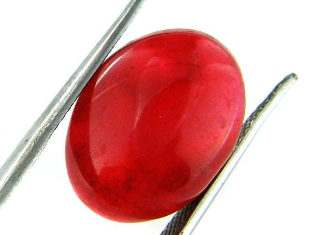 Quartz Ruby Red colour   17.30  carats   QU 200