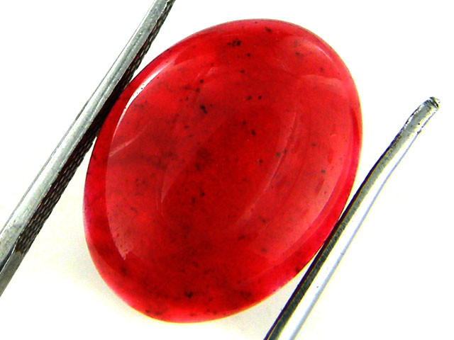 Quartz Ruby Red colour  8.25   carats   QU 201