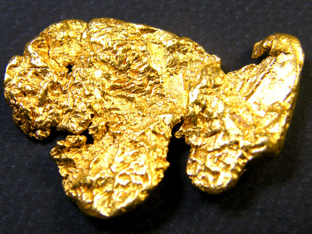 COLLECTORS LARGE  AUSTRALIAN GOLD NUGGET 5.70  GRAMS LGN134