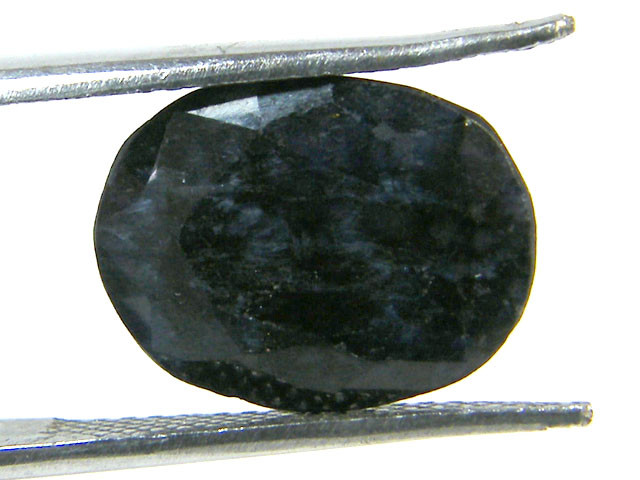 NATURAL METALLIC SHEEN BLUE SAPPHIRE STONE 5.05 CTS SGS 292